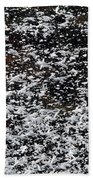 Frost Flakes On Ice - 29 Beach Towel