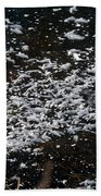 Frost Flakes On Ice - 30 Beach Towel