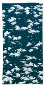 Frost Flakes On Ice - 34 Beach Towel