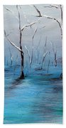 Frost Like Ashes Beach Towel