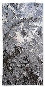 Frosted Glass Abstract Beach Towel