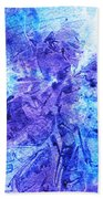 Frosted Window Abstract I   Beach Towel