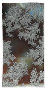 Frosted Window Beach Towel
