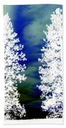 Frosty Giants Beach Towel