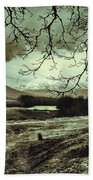 Frosty Morning At Glen'orchey   Beach Towel