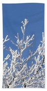 Frosty Winter Wonderland 01 Beach Towel