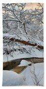 Frozen Creek Beach Towel