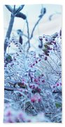 Frozen In Ice Nature Beach Towel