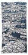 Frozen River Beach Towel