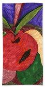 Fruit Basket Beach Towel