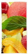 Fruit Salad Beach Towel