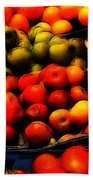 Fruits On The Market Beach Towel