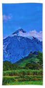Fuego Volcano Guatamala Beach Towel