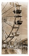 Fun Ferris Wheel Beach Towel