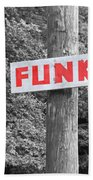 Funk Road Beach Towel