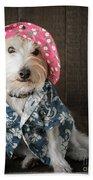 Funny Doggie Beach Towel