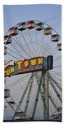 Funtown Ferris Wheel Beach Towel