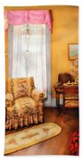Furniture - Chair - Livingrom Retirement Beach Towel by Mike Savad