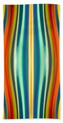 Fury Pattern 1 Beach Towel