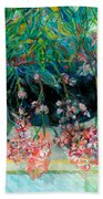 Fuschia Beach Towel
