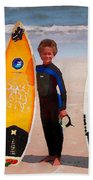 Future Surfing Champs Beach Towel