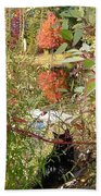 Fuzzy And The Reflected Tree Beach Towel