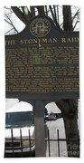 Ga-029-6 The Stoneman Raid Beach Towel