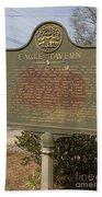 Ga-108-5 Eagle Tavern Beach Towel
