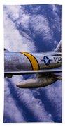 Gabby's F-86e Beach Towel