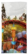 Gadget Go Coaster Disneyland Toontown Photo Art 02 Beach Towel