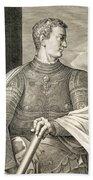 Gaius Caesar Caligula Emperor Of Rome Beach Towel