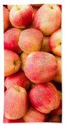 Gala Apples On Display Beach Sheet