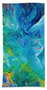 Galactic Angel Beach Towel