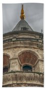Galata Tower Istanbul Beach Towel by Antony McAulay