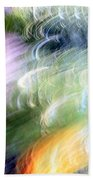 Galaxy Colors Beach Towel