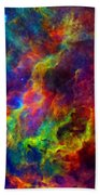 Galaxy Lights Beach Towel