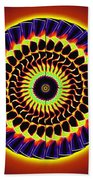 Galaxy Spotlight Kaleidoscope Beach Towel