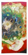 Galaxy With Solar Systems Beach Towel