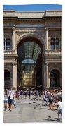 Galleria Vittorio Emanuele. Milan Beach Towel