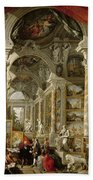 Gallery With Views Of Modern Rome Beach Towel