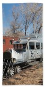 Galloping Goose 7 In The Colorado Railroad Museum Beach Towel