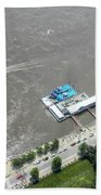 Gaming On The River Boats Beach Towel