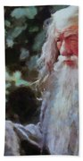 Gandalf The Grey Not Moses Mom Beach Towel