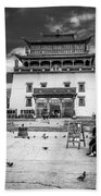 Gandantegchenling Monastery Beach Towel