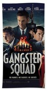 Gangster Squad Beach Towel
