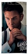 Gangster Squad Penn Beach Towel