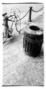 Garbage Bike  Beach Towel