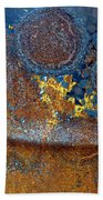 Garbage Can Abstract Beach Towel