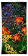 Garden Color Delight Beach Towel