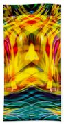 Garden Flowers Beach Towel by Omaste Witkowski